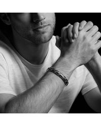 David Yurman | Forged Carbon Link Bracelet | Lyst