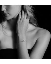 David Yurman - Chatelaine Bracelet With Pink Tourmaline And Diamonds In 18k Gold - Lyst