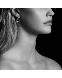 David Yurman - Châtelaine® Drop Earrings With Hampton Blue Topaz And Diamonds - Lyst
