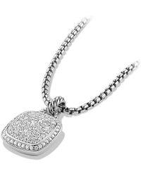 David Yurman - Albion® Pendant With Diamonds, 14mm - Lyst
