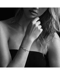 David Yurman - Cable Collectibles Pavé Lock & Key Charm Bracelet With Diamonds In 18k Gold - Lyst