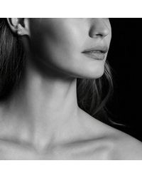 David Yurman | Starburst Earrings With Diamonds In 18k Rose Gold, 10mm | Lyst