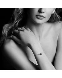David Yurman - Le Petit Coeur Sculpted Heart Chain Bracelet With Diamonds In 18k Gold - Lyst