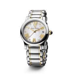 David Yurman - Classic 34mm Stainless Steel And 18k Gold Quartz Watch With Diamond Markers - Lyst