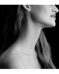 David Yurman - Osetra Drop Earrings With Rhodalite Garnet - Lyst