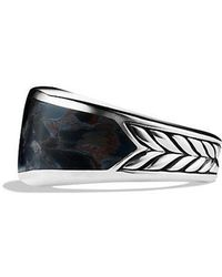 David Yurman - Exotic Stone Narrow Three-sided Ring With Pietersite - Lyst