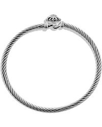 David Yurman - Starburst Bracelet With Diamonds, 3mm - Lyst