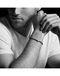 David Yurman - Spiritual Beads Skull Bracelet With Black Onyx In Sterling Silver - Lyst