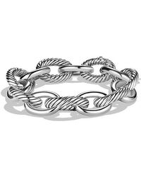 David Yurman | Extra-large Oval Link Bracelet | Lyst