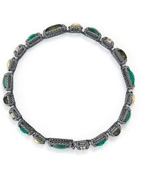 David Yurman | Chatelaine Mosaic Tennis Bracelet With 18k Gold | Lyst