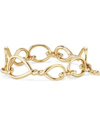 David Yurman - Continuance Chain Bracelet In 18k Gold - Lyst