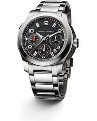 shop men s david yurman watches from 1450 lyst david yurman revolution 43 5mm chronograph watch lyst
