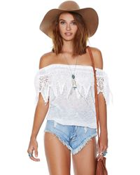 Nasty Gal Kaylie Top - Lyst