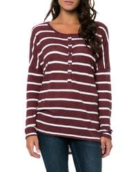 Volcom The Seven Days Ls Top - Lyst