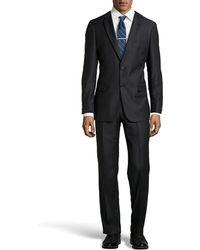 Hugo Boss Pasini Pinstripe Two-Piece Suit - Lyst