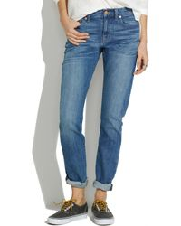Madewell The Slim Boyjean in Blue Finch - Lyst