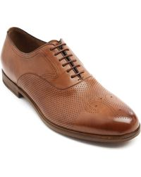 Fratelli Rossetti Batick Washed Brown Leather Brogues - Lyst