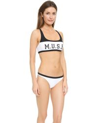 Zoe Karssen - Muse Bikini - Pirate Black - Lyst
