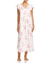 Carole Hochman - Cascading Floral Long Gown - Lyst