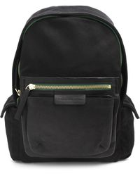 Marc By Marc Jacobs Black Rucksack with Pocket - Lyst