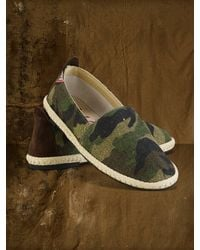 Denim & Supply Ralph Lauren Camo Emery Flat Espadrille - Lyst
