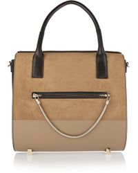 Alexander Wang - Chastity Suede And Leather Tote - Lyst