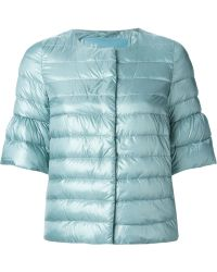 Herno Bell Sleeved Quilted Jacket - Lyst