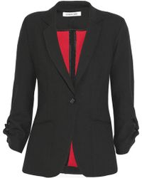 Elizabeth And James Barnes Twill Blazer - Lyst