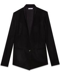 Helmut Lang Flex Suiting Blazer - Lyst
