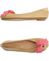 Maloles Ballet Flats - Lyst