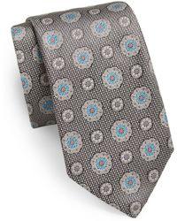 Samuelsohn - Willis Medallion Silk Tie - Lyst