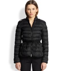 Burberry Averton B Puffer Jacket - Lyst
