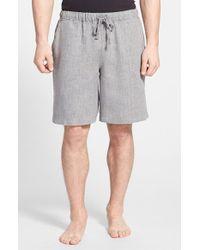 Daniel Buchler Men'S Woven Linen Shorts - Lyst