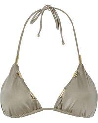 Lazul Sunitha Triangle Bikini Top - Lyst