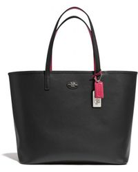 Coach Leather Tote - Lyst