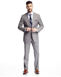 BOSS | Modern-fit James Two-piece Check-print Suit | Lyst