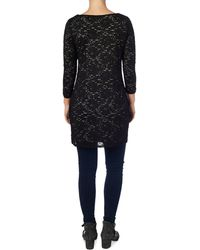 Phase Eight | Stripe Lace Tunic | Lyst