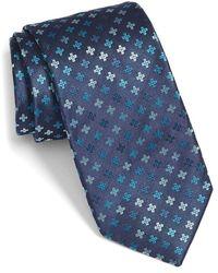 Bugatchi - Geometric Silk Tie - Lyst