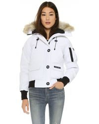 Canada Goose chilliwack parka outlet store - Canada goose Chilliwack Duckdown Parka Jacket in Black | Lyst