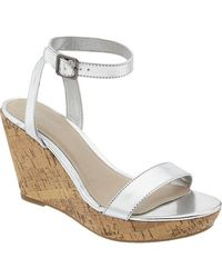 Old Navy Platform Sandals - Lyst