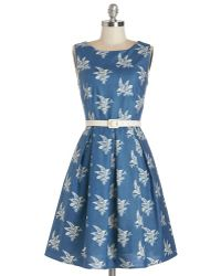 ModCloth Soaring Through The Day Dress - Lyst