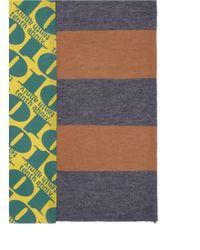 Kolor - Tenth Anniversary Print Silk-alpaca Scarf - Lyst