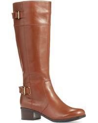 Bandolino Castin Boots Wide Calf - Lyst