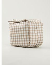 Carven - Gingham Check Handbag - Lyst