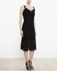 Dolce & Gabbana Lace Fishtail Dress - Lyst
