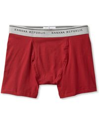 Banana Republic Stretch Cotton Boxer Brief - Lyst