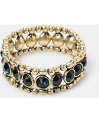 Violeta by Mango   Beaded Bracelet   Lyst
