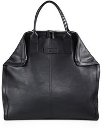 Alexander McQueen Leather Tote Bag - Lyst