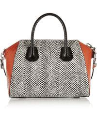 Givenchy Small Antigona Bag In Elaphe - Lyst