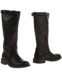 Twin-set Simona Barbieri Black Boots - Lyst